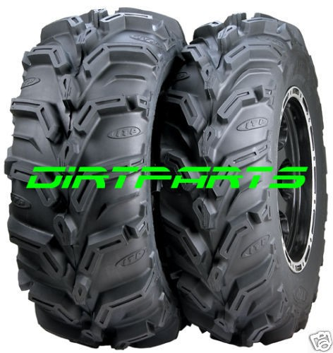 ITP Mud Lite XTR Tire Kit (2) 26 11 12 ATV UTV