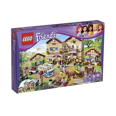 Newly listed LEGO FRIENDS SUMMER RIDING CAMP SET 3185   1145 Pieces