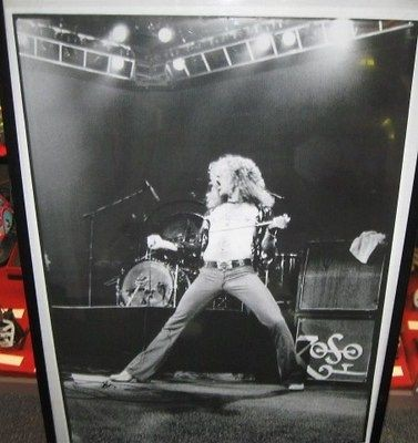ROBERT PLANT LED ZEPPELIN LIVE EARLS COURT 75 RARE NEW POSTER 2000S