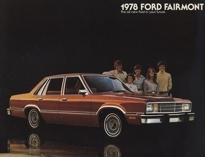 1978 ford fairmont cdn sales brochure book