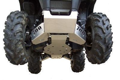 SUZUKI KING QUAD 750 700 500 450 7 PIECE BODY ARMOR SET FULL SKID