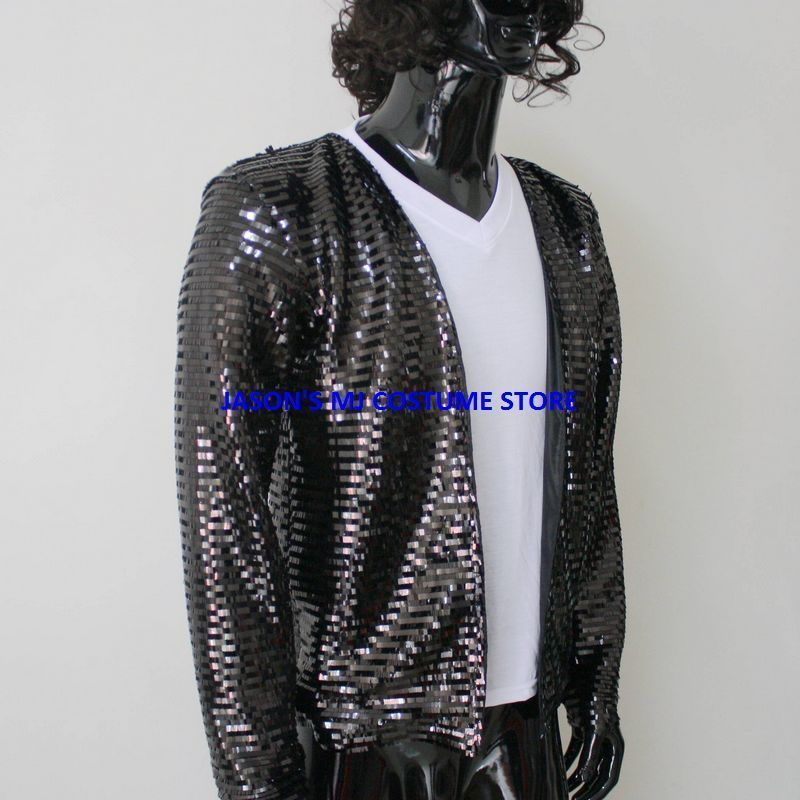 New Michael Jackson Billie Jean Bucharest Sequin Jacket