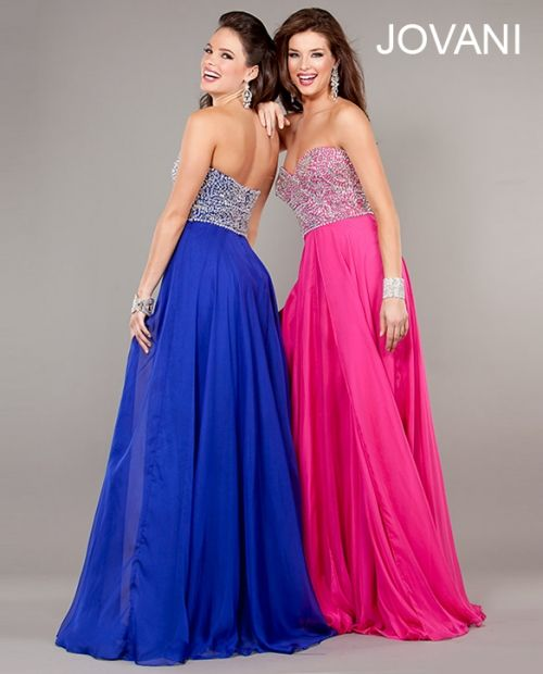 Sweetheart Evening Gown Prom Dress Royal Blue Size 2 New
