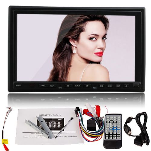 Digital Touch Screen 2 Din Car Stereo CD  TV DVD Player Auto Radio