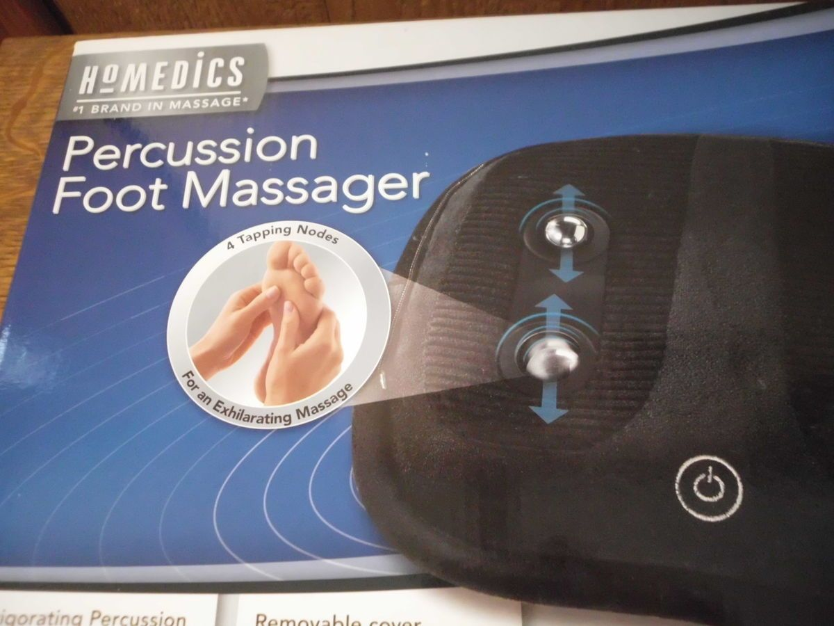 Homedics Percussion Foot Massager