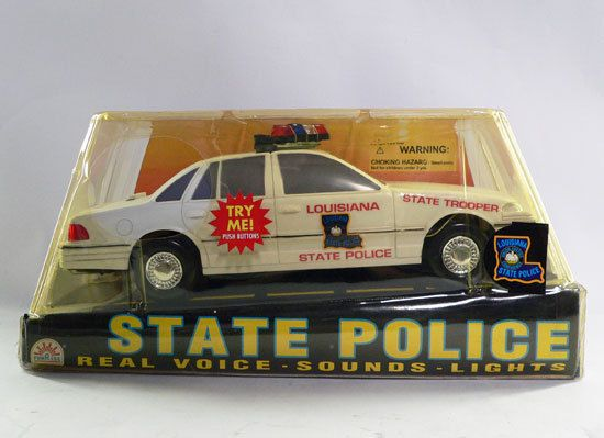Funrise State Police Series Louisiana State Trooper Police Car w