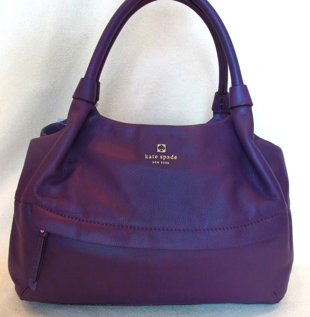 NWT NEW Kate Spade Grant Park Leather Stevie Purse Bag Bershire Bexley