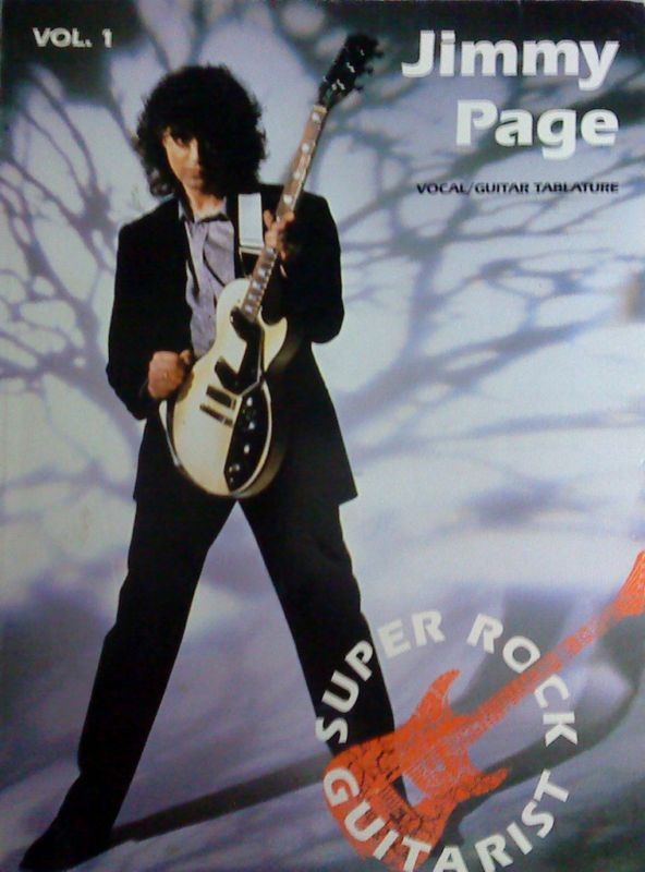 Jimmy Page Vol I Guitar Tab Songbook LED Zeppelin