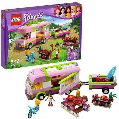 AUGUST 2012 LEGO FRIENDS 3184 ADVENTURE CAMPER *NIB, NEW LEGO FOR