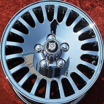 NEW JAGUAR XJ6 VANDEN PLAS 16 OEM CHROME WHEELS RIMS EXCHANGE 59685