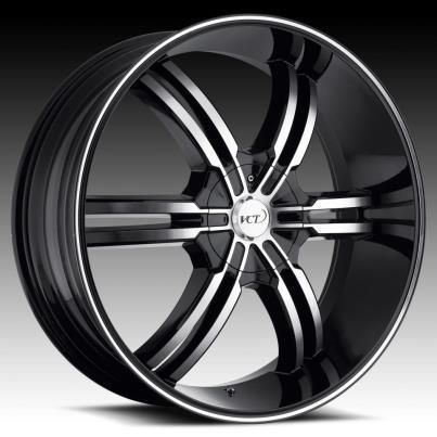 22 24 26 28 VCT Torino Black Wheels Rims Cadillac Escalade Ext ESV