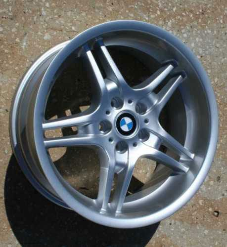 19 Staggered Alloy Wheels Rims for 2004 2010 BMW 5 Series 545 550