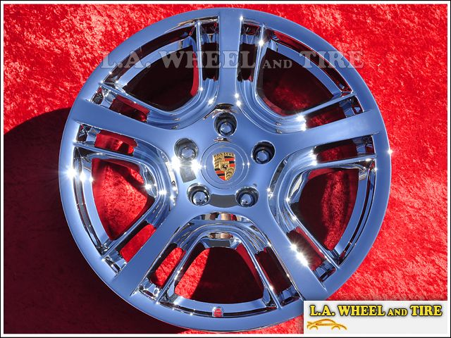 of 4 New 19 Porsche Panamera Chrome Factory Wheels Rims 67387